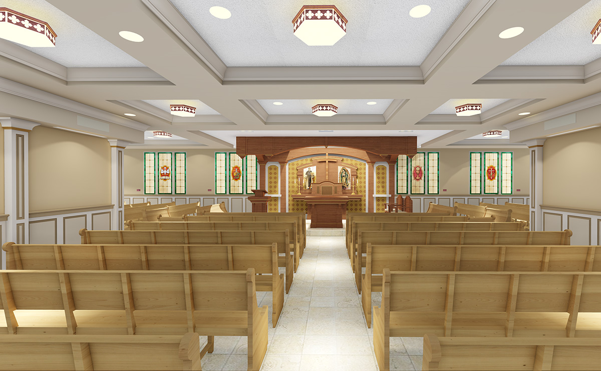Chapel of St. Martin de Porres Renovation, New Orleans - LA